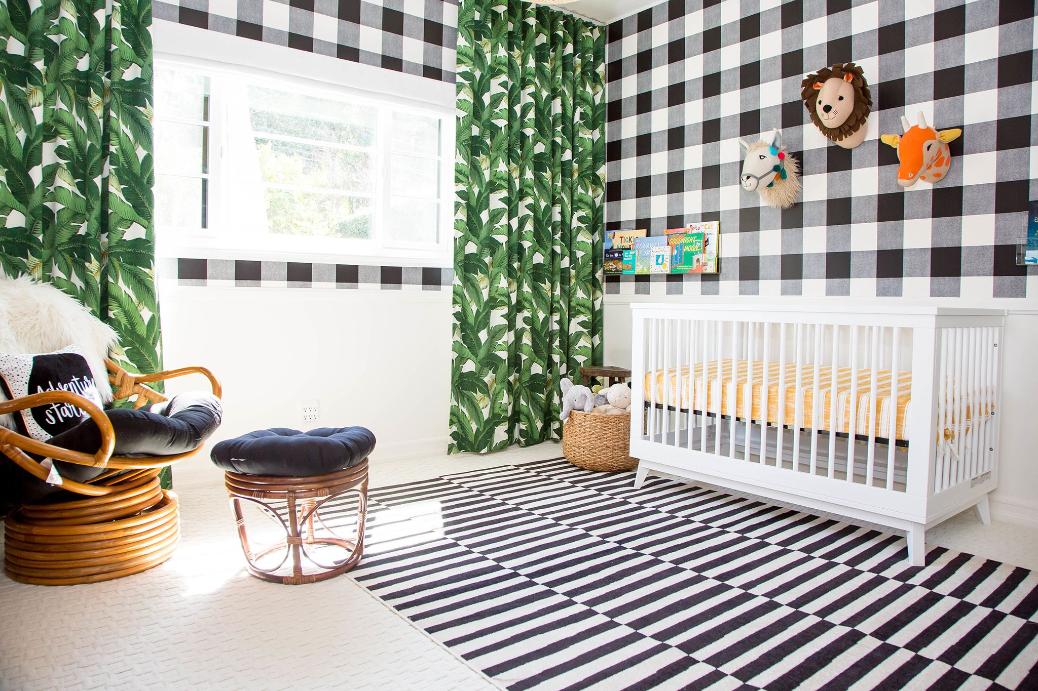 This Nursery Will Inspire You To Start Mixing Patterns In A Whole New Way Project