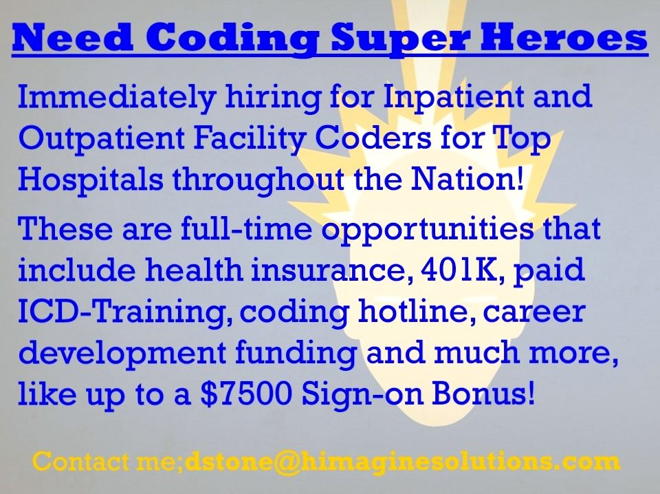 Pin by David HIM Recruiter on Healthcare Jobs Healthcare