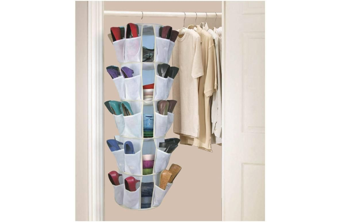 Closet Hanging Shoe Organizer Diy Closet Storage Bedroom Organization Diy Bathroom Closet Designs
