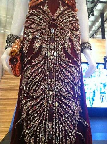 Get Up Close and Personal with Pradas emGreat Gatsby/em Costumes, On View Now: Detail on a dress
