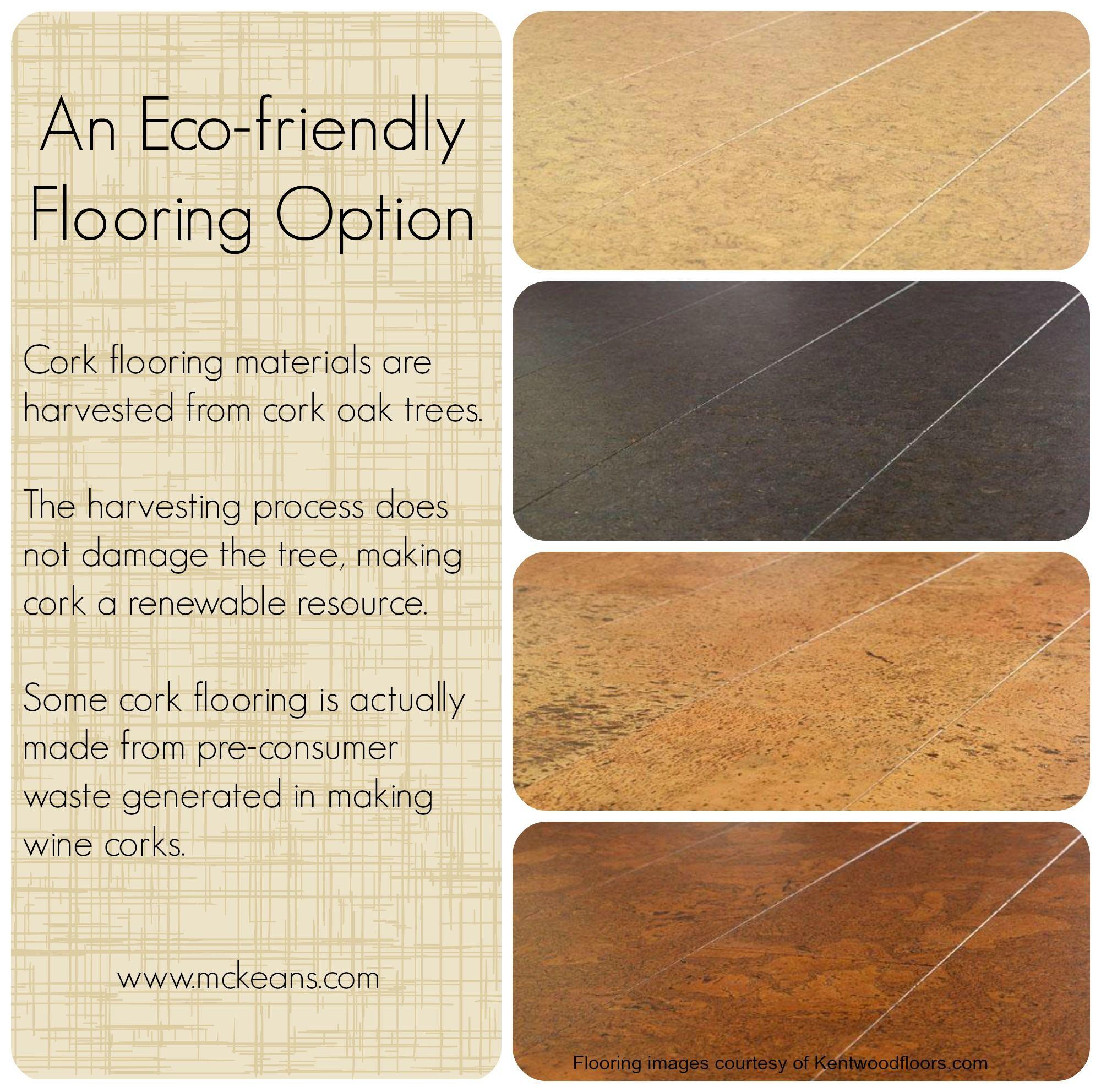 Eco Friendly Flooring Option Cork Flooring Materials Are