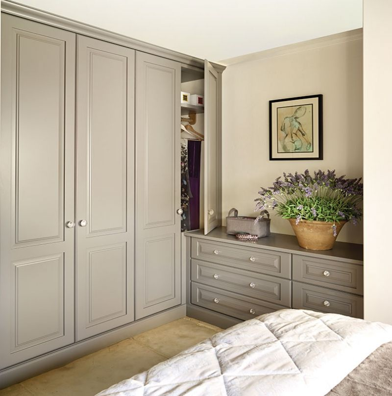 Built in bedroom wardrobes painted kitchens bedrooms for John lewis bedroom ideas