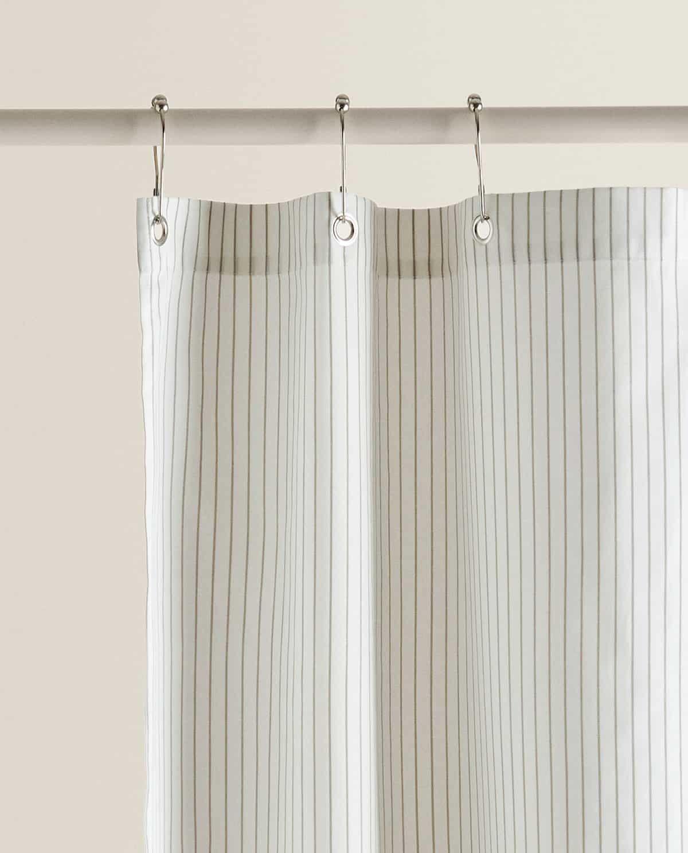 striped shower curtain shower curtain