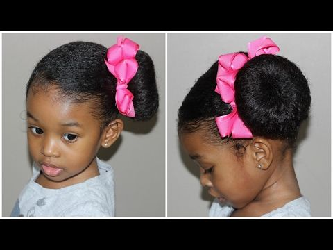 Easy Hairstyle For Girls Simple Hairstyles For Girls Youtube Girls Hairstyles Easy Baby Girl Hairstyles Girl Hairstyles