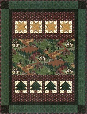 Thimbleberries Campfire Flannel Throw I Made This For My