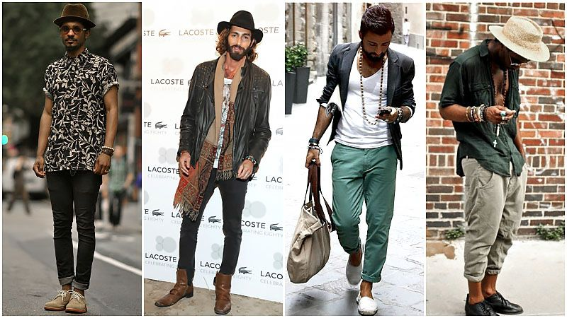 Boho Style Bohemian Outfit For Men