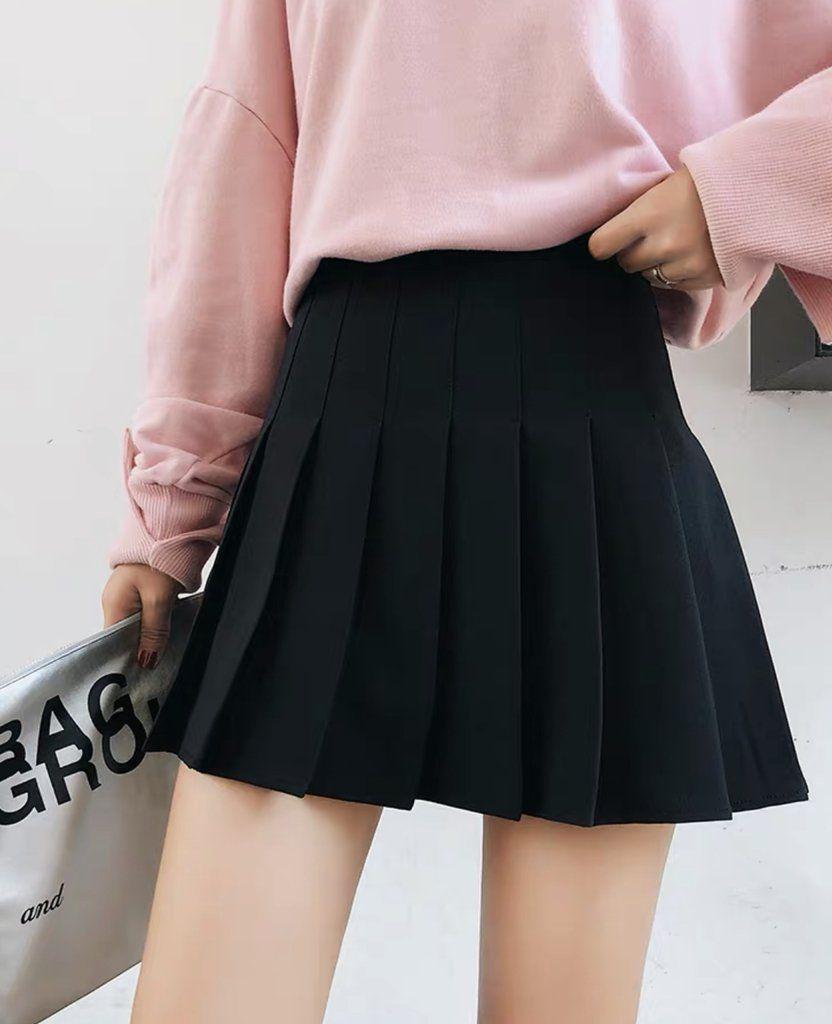 Cute Soft Girl Skirt Girl Skirt Kawaii Fashion Outfits Kpop Fashion Outfits