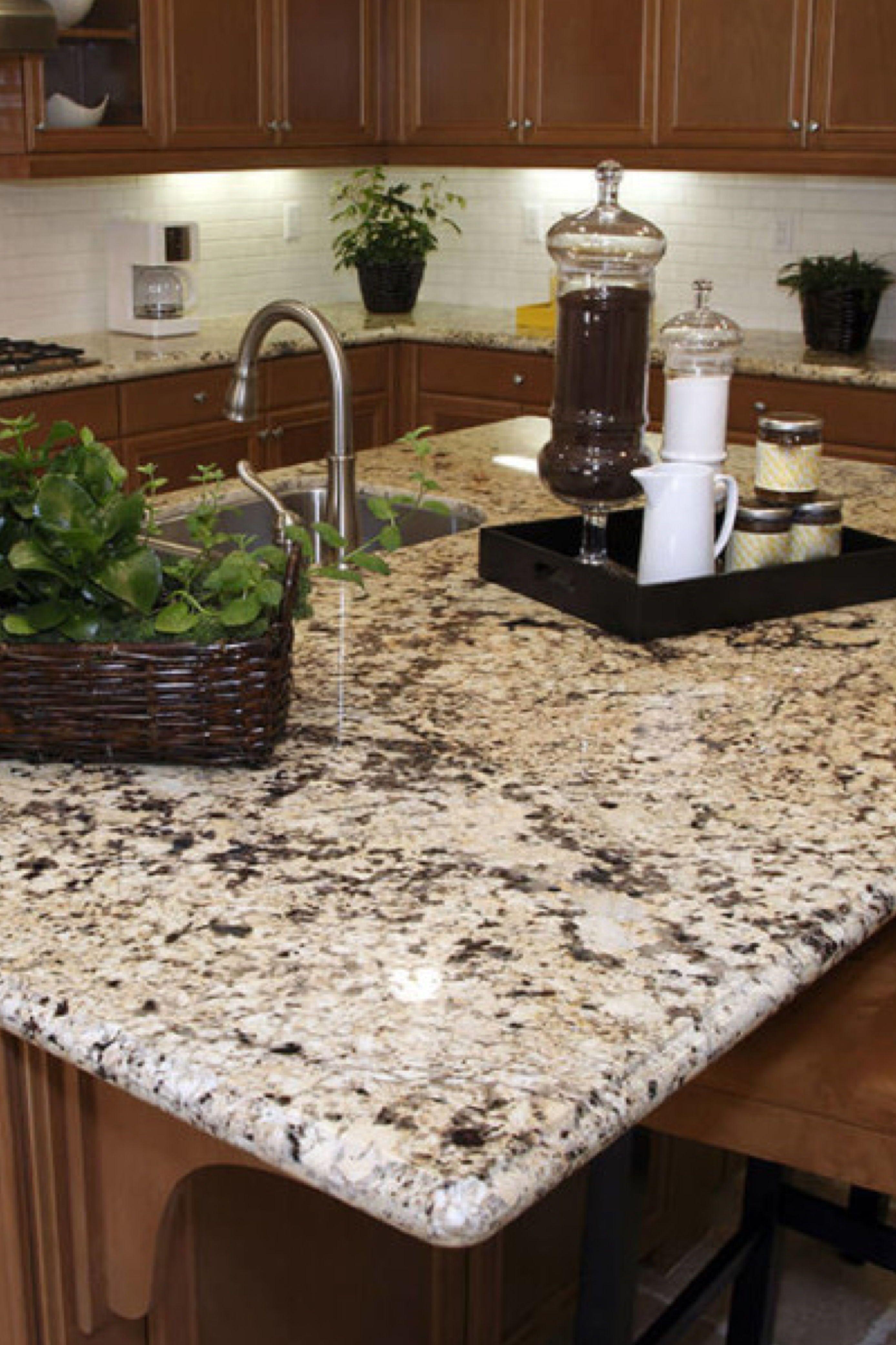 Delicatus Cream Granite Countertops Cost Reviews In 2020 Granite Kitchen Granite Kitchen Island Kitchen Cabinets And Granite