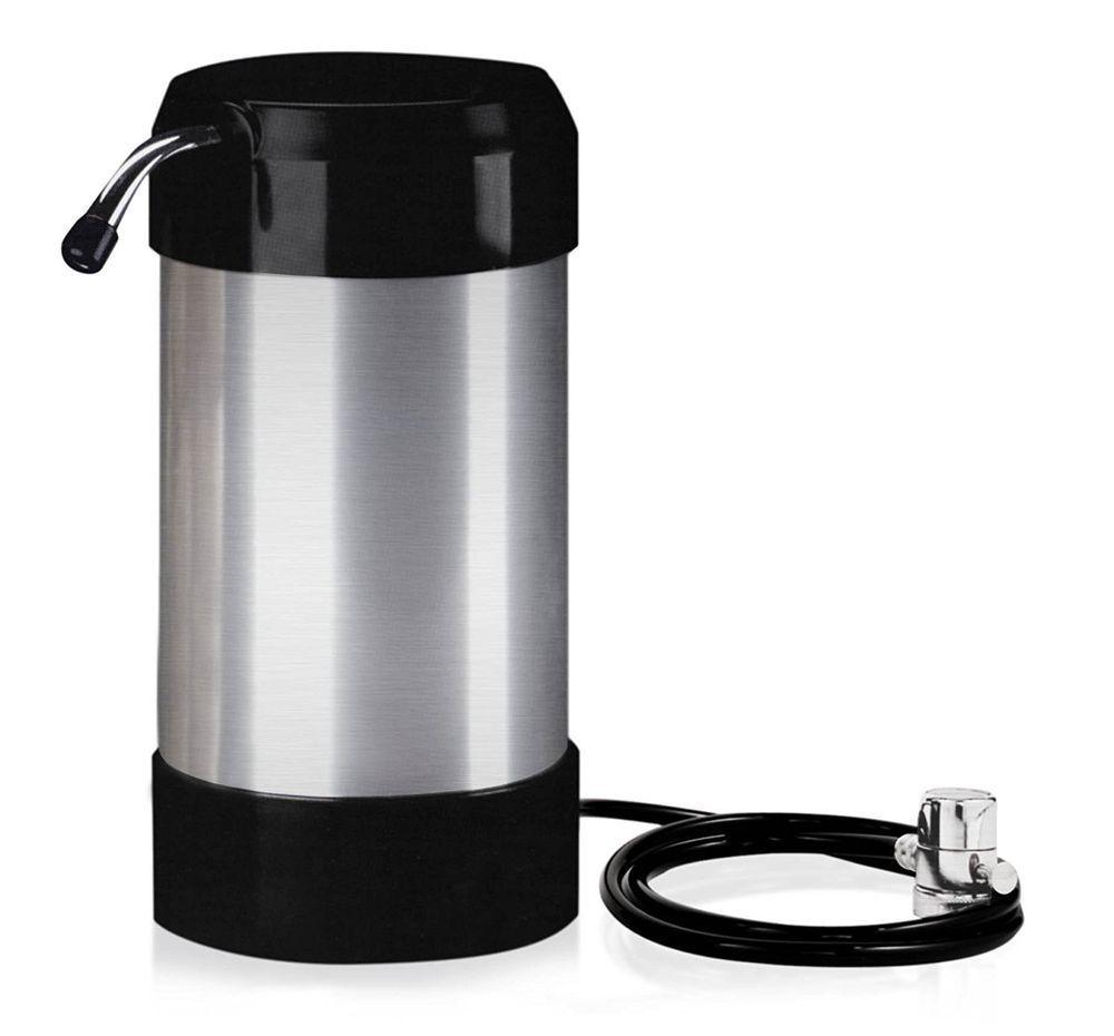 Countertop drinking water purifier clear faucet gallon no