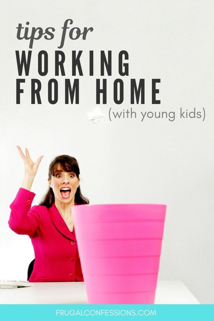 What a Work from Home Mom Schedule (Toddler-Aged) Looks Like