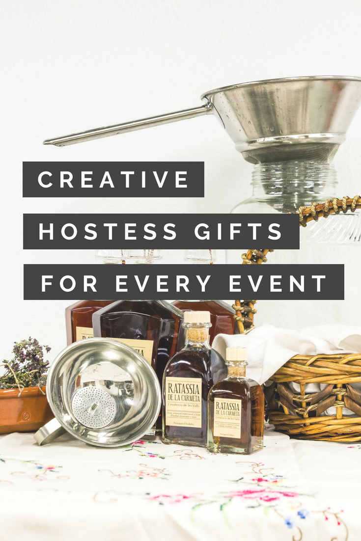 classic and creative hostess gifts for every occasion | gift ideas