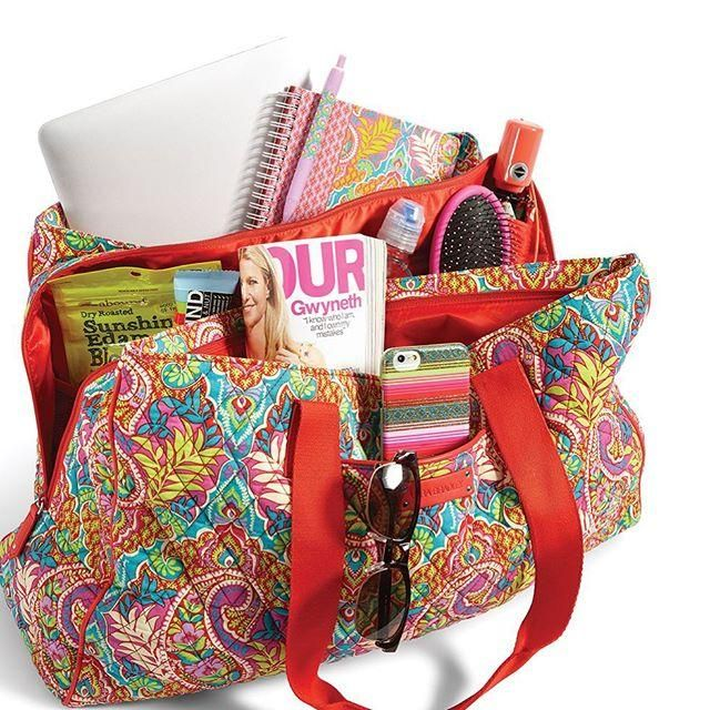 With the Triple Compartment Travel Bag c83fa20948f86