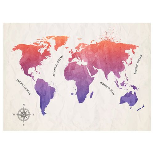 Giant map of the world poster wall brand new sizes a1 a2 a3 a4 giant map of the world poster wall brand new sizes a1 a2 a3 a4 gumiabroncs Choice Image