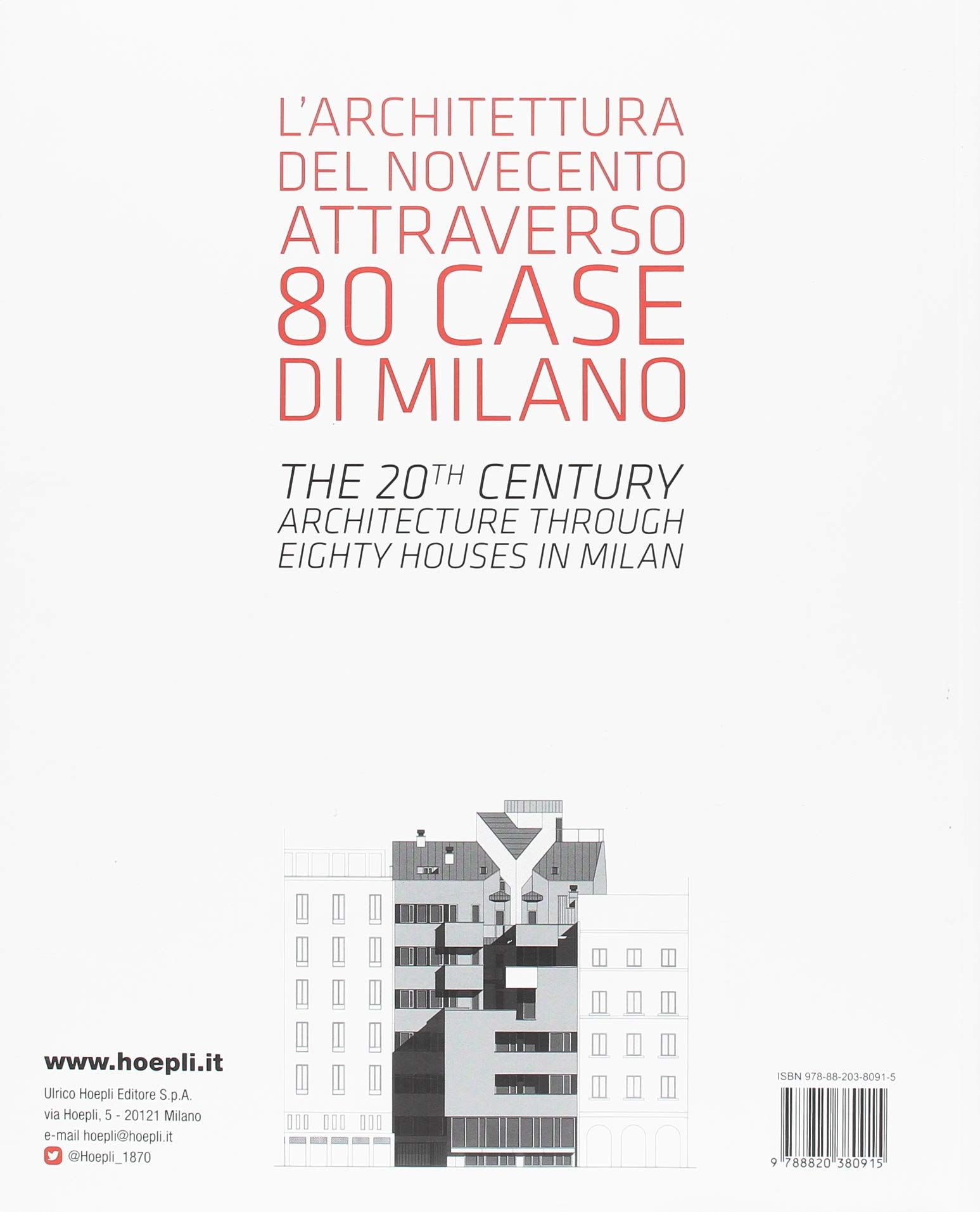 Ad P Architetti case milanesi. 1923-1973. cinquant'anni di architettura