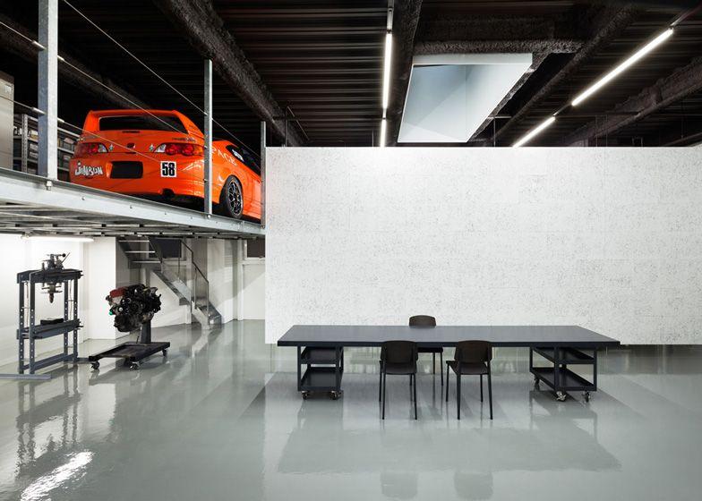 Speedshop Type One By Torafu Architects Garage Decor Architect