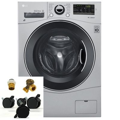 Lg 2 3 Cu Ft Ventless Washer Dryer Combo With