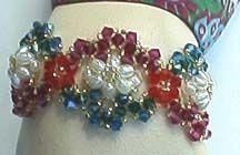 Sheherezade's Bracelet Pattern at Sova-Enterprises.com
