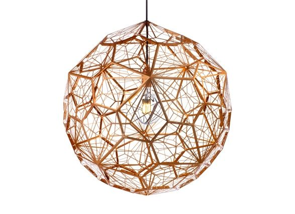 etch light web copper from Tom Dixon