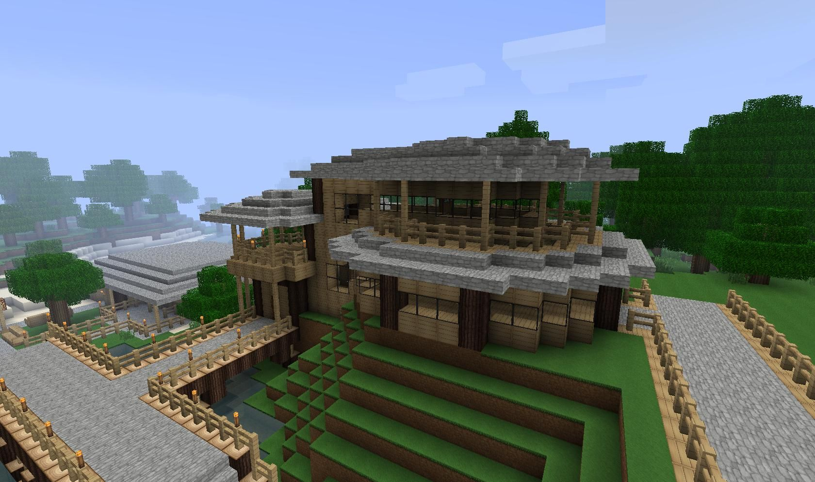 Minecraft amazing house designs for Amazing building designs
