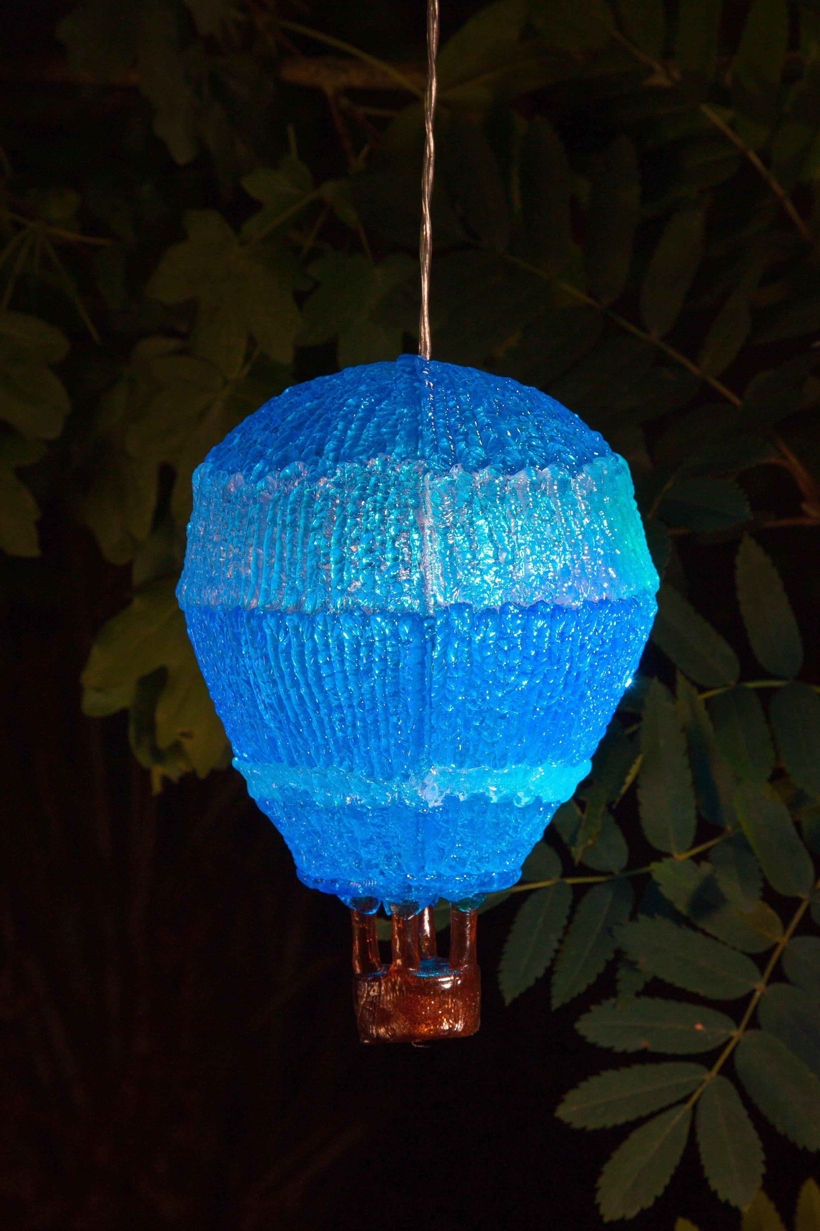 NOMA Garden Art Balloon Solar Light www.noma.co.uk
