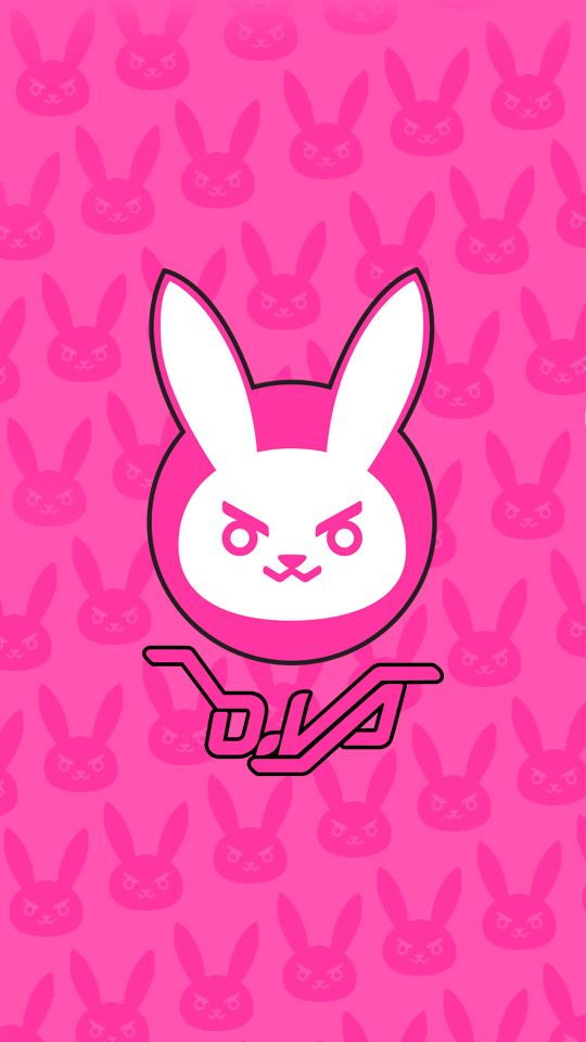 D Va Phone Wallpaper By Stghost Overwatch