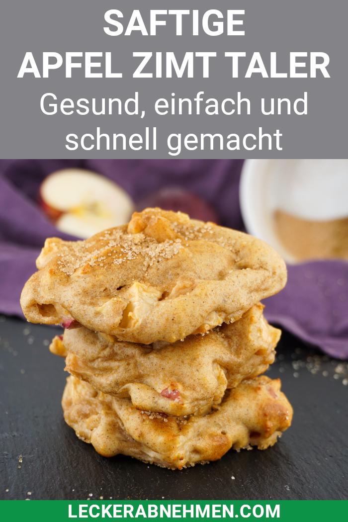 Photo of Apple cinnamon thaler – healthy snack for the Christmas season