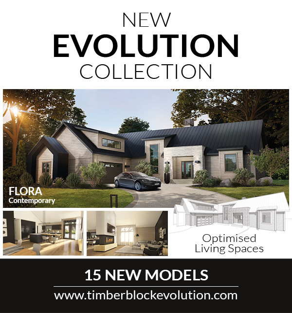 Timber Block Releases 15 Models In New Collection The Evolution Series House Floor Plans Building Design House Styles