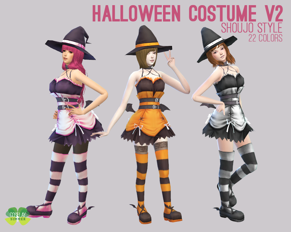 Halloween Sims 4 Cc 2020 P) The Sims 4   Halloween Costume V2 in 2020 | Sims 4, Sims