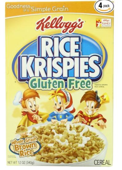 are rice crispy treats gluten free