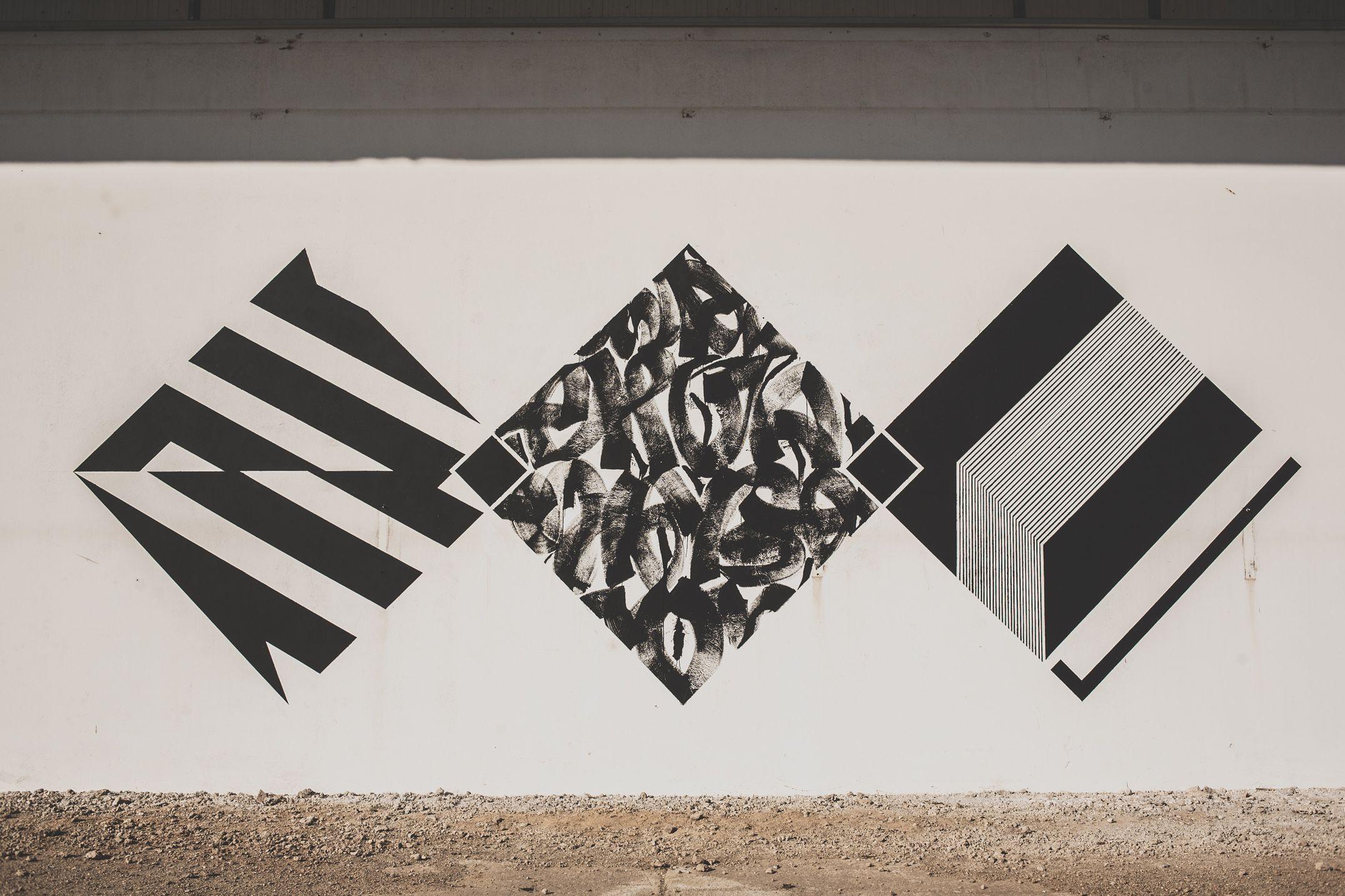 Blaqk and seikon street urban wall art pinterest street