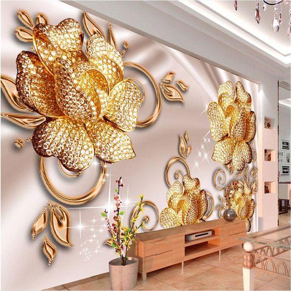 Best Beibehang Papel De Parede Para Quarto 3D Fresco Custom 400 x 300