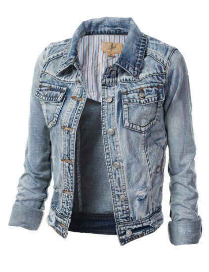 Women S Light Blue Denim Jacket On Sale