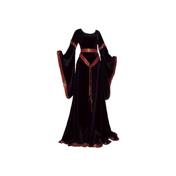lady gown featuring polyvore women's fashion clothing dresses medieval gowns costumes medieval dresses