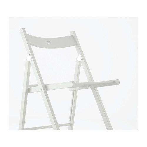 Terje silla plegable blanco mobiliario pinterest muebles sillas plegables y muebles de madera - Sillas blancas ikea ...