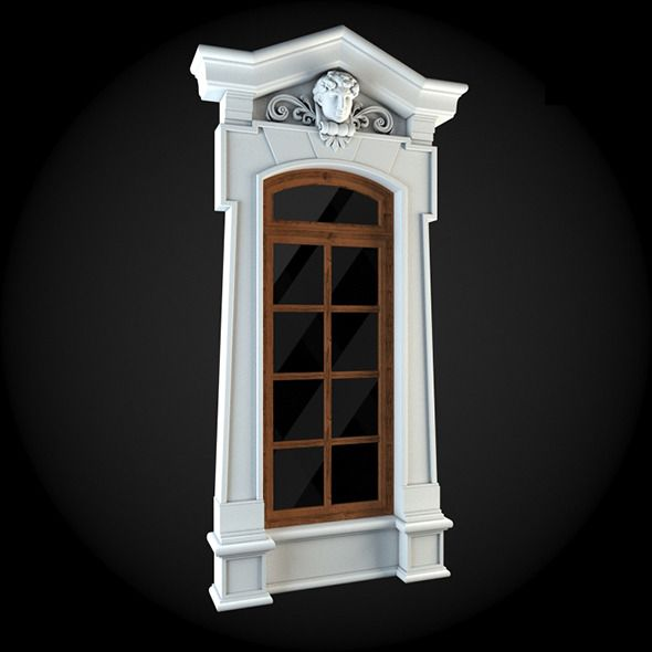 Exterior Home Design Software: Window 046. House 3D Model. #3D #3DModel #3DDesign