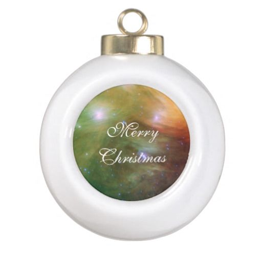 Pleiades Spitzer Telescope Ceramic Ball Christmas Ornament ...