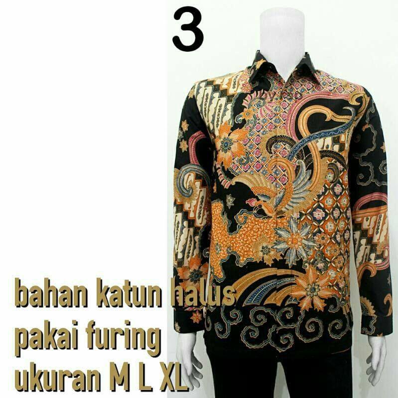 Toko Batik Online Model Baju Batik Kombinasi Pria Sogan Call Order