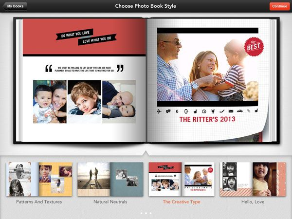 Shutterfly Photo Book iPad App & Giveaway Her Good Life
