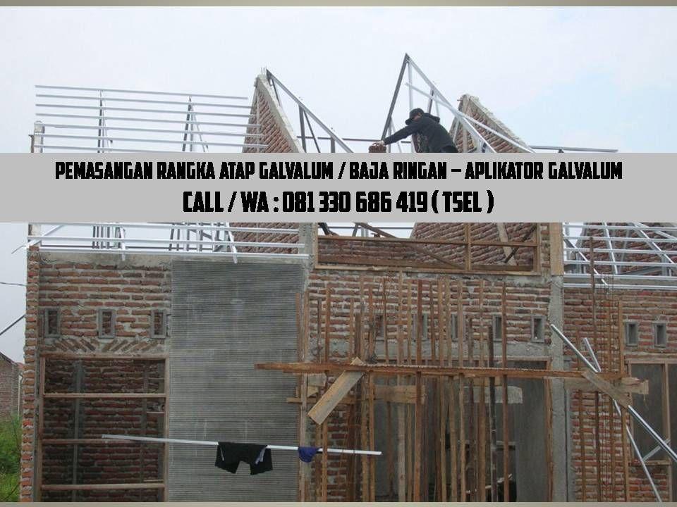 Harga Ongkos Pasang Atap Baja Ringan Pemasangan Surabaya