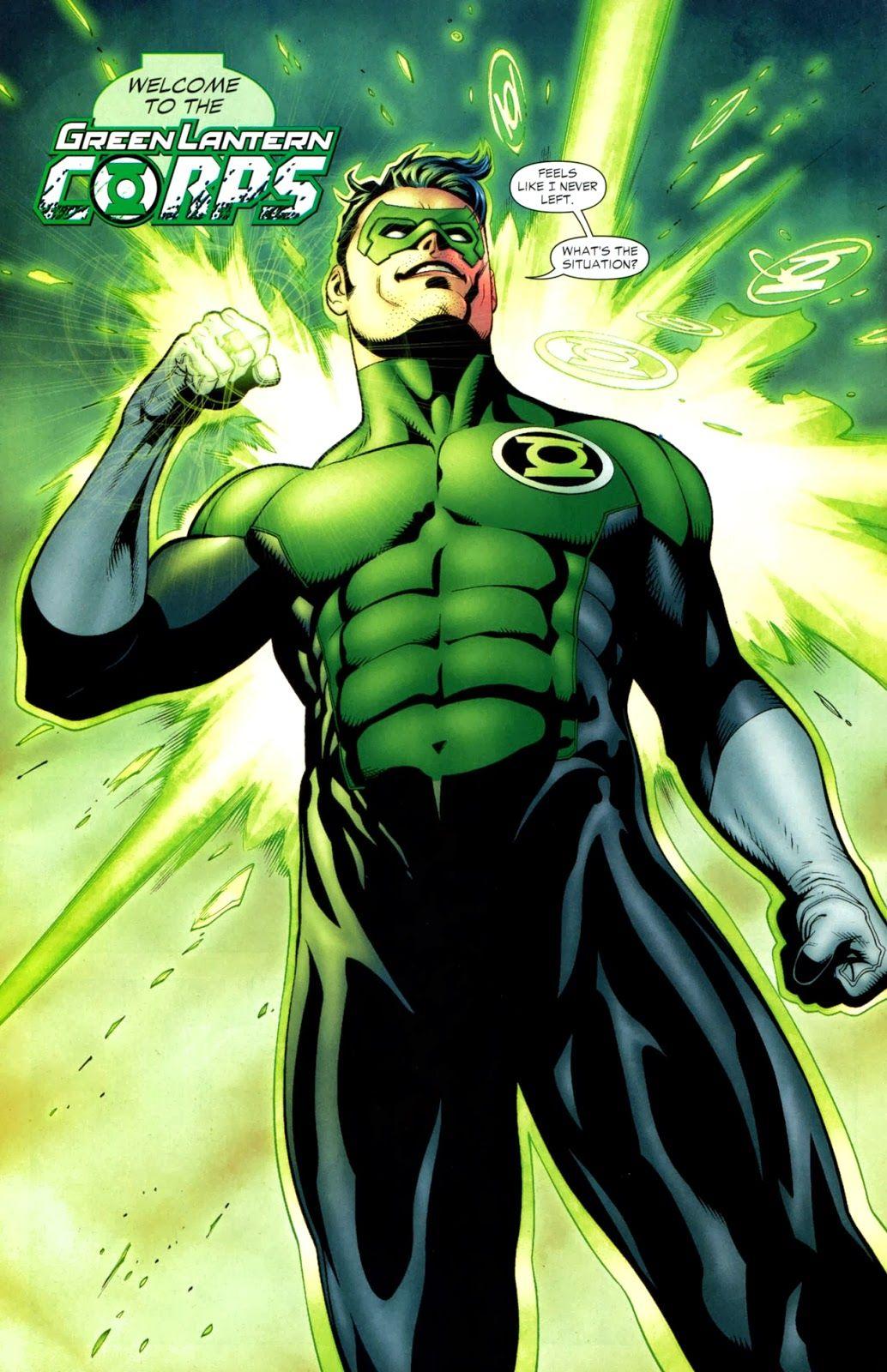 Linterna Verde Marvel Buscar Con Google Kyle Rayner Green Lantern Green Lantern Corps Cómics
