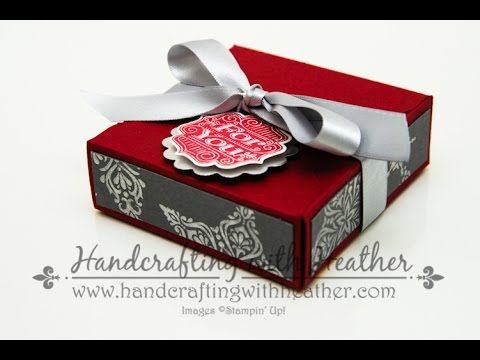 Gift Box Punch Board Tutorial - YouTube