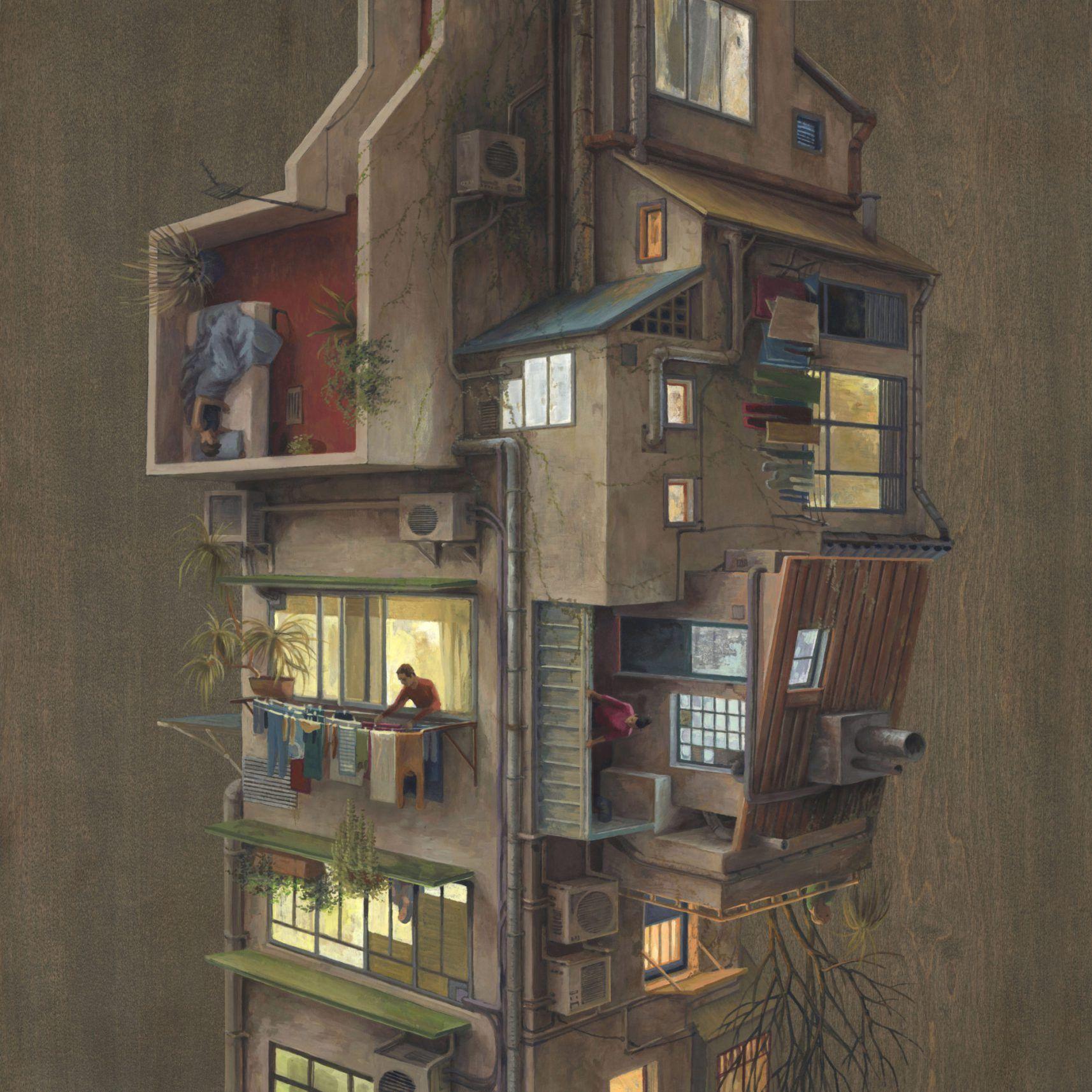 Colossal X Cinta Vidal Print Release: Urban Evening