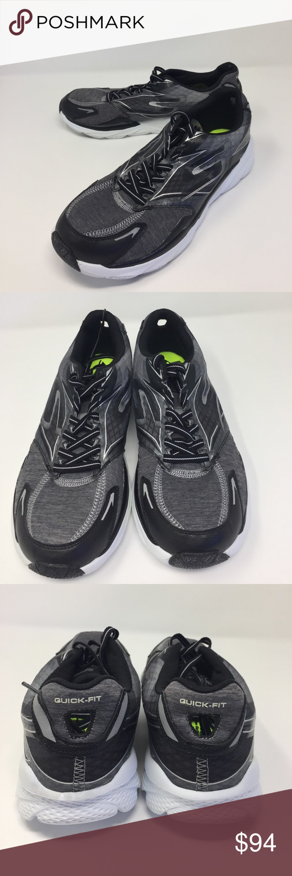 2f05c570c91f Men s Skechers GoRun Ride 4-Excess size 8.5. a-1 New without box no tags in  good condition look like it has been tried on once gray silver color  Skechers ...