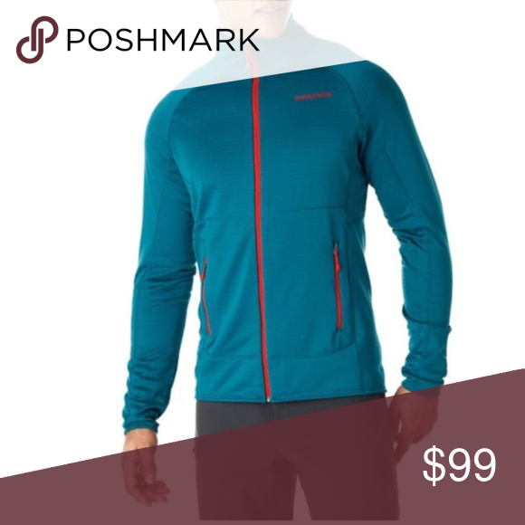 Patagonia R1 Full Zip Fleece Jacket Underwater Blu in 2020