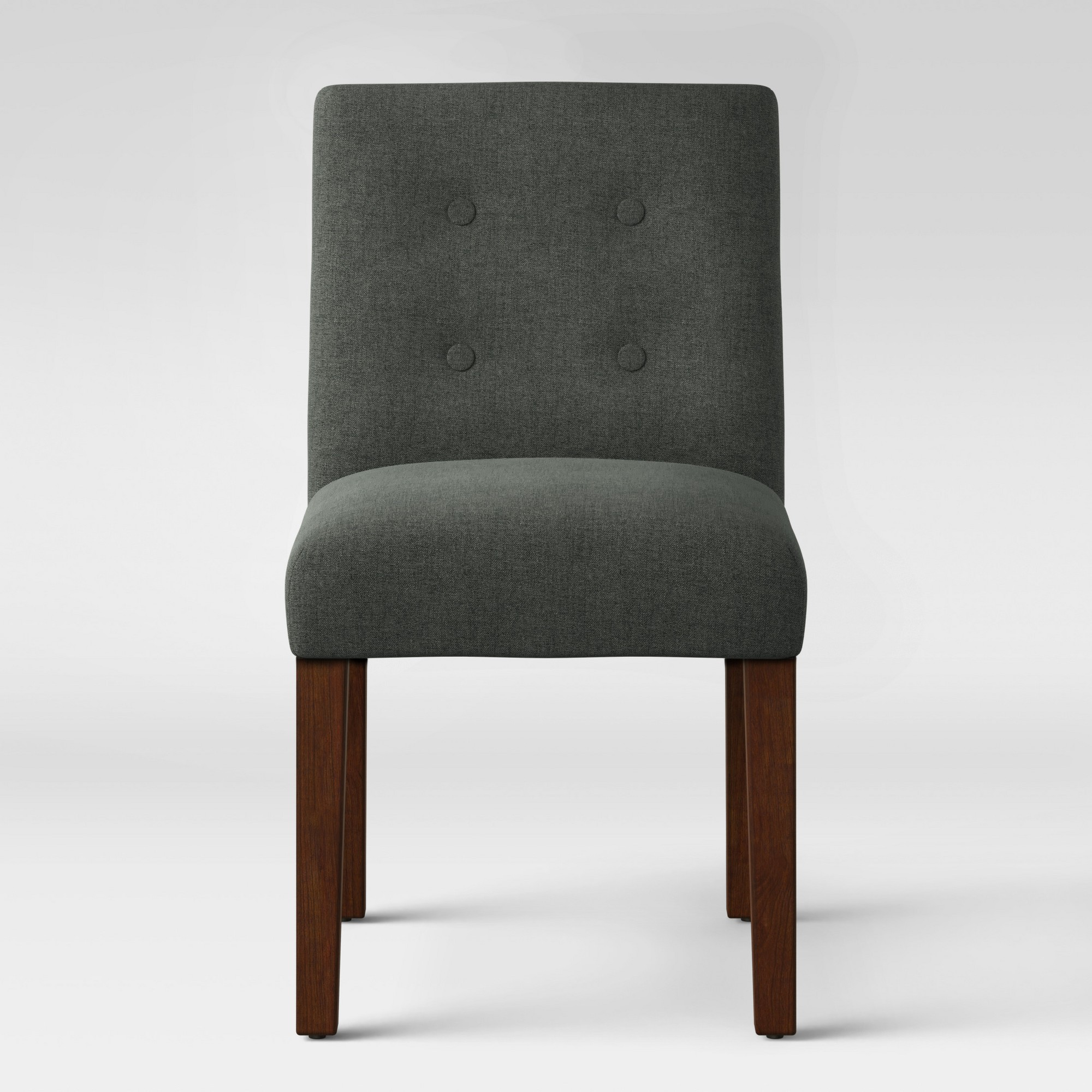 Modern Parsons Dining Chair With Ons Dark Grey Project 62