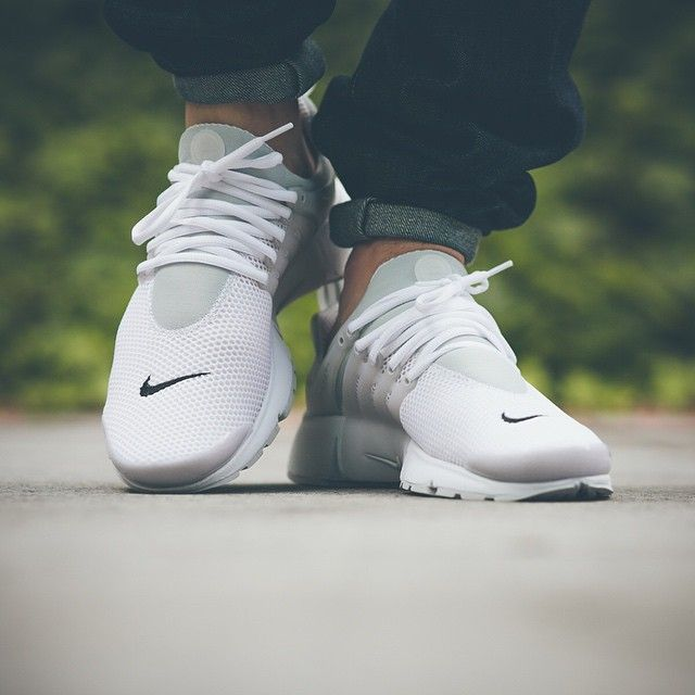 save off stable quality 100% quality nike air presto women all white v shoes