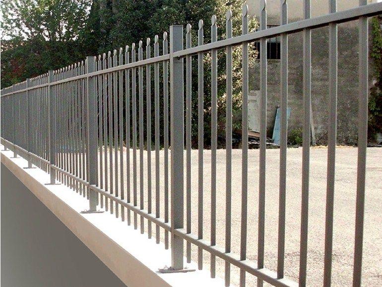 Cl ture barreaudage modulable en fer fiammifero cmc di costa massimiliano fer iron for Fer forge barriere