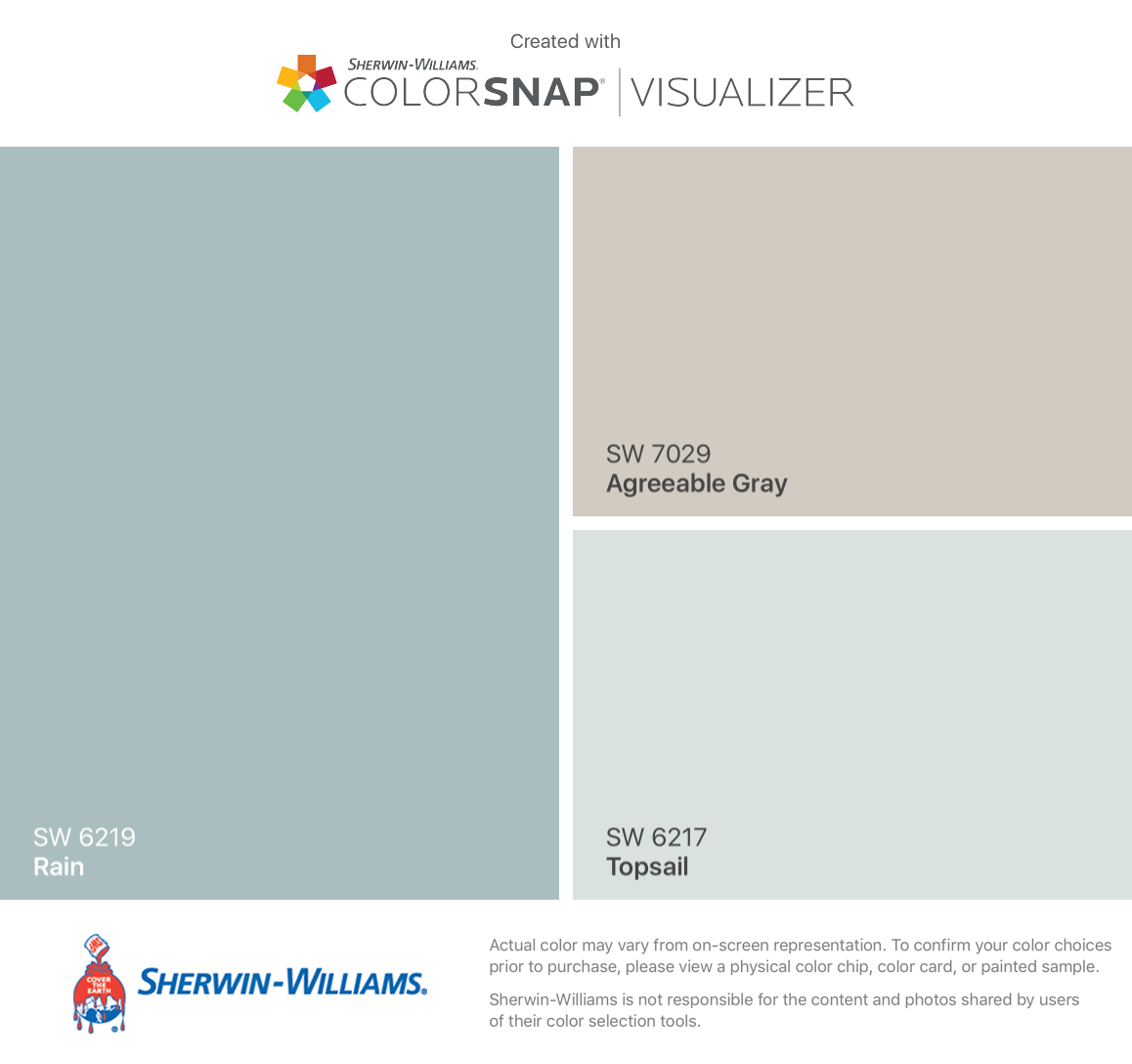 Agreeable Gray Sherwin Williams Palette + Agreeable Gray Sherwin Williams