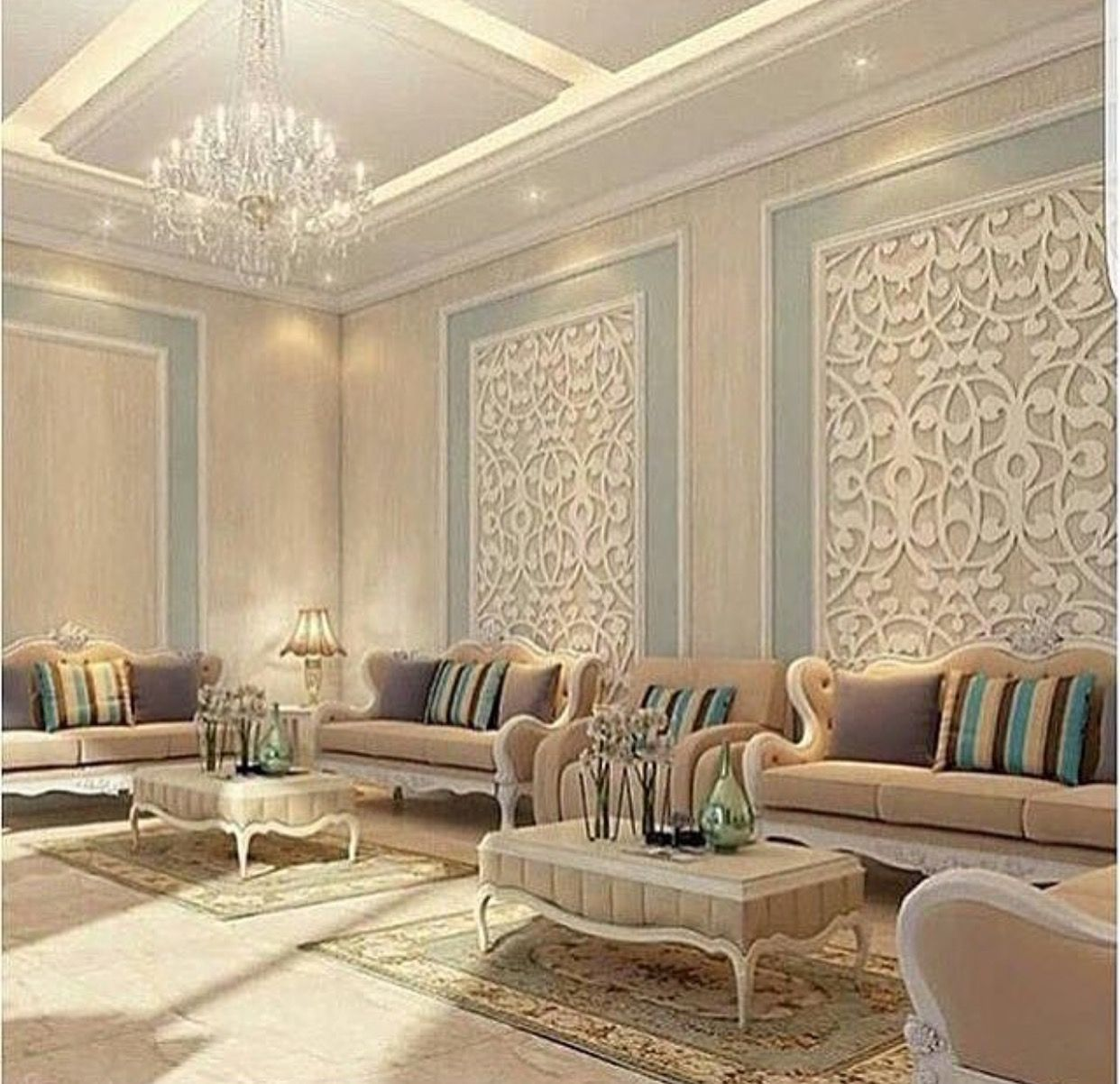 This aould be really good for a formal living room design for Formal living room