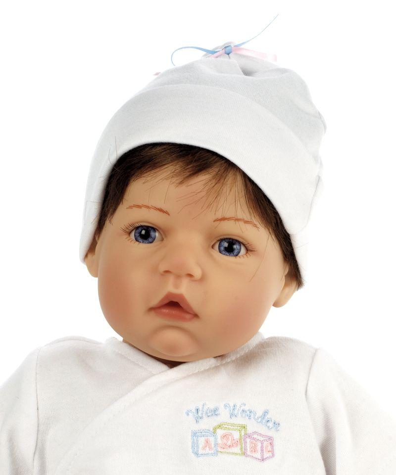 Madame Alexander Newborn Nursery Baby Doll Wee Wonder Tiny Love Light Skin Brown Hair Blue Eyes Nursery Ba Middleton Dolls Baby Dolls Real Baby Dolls